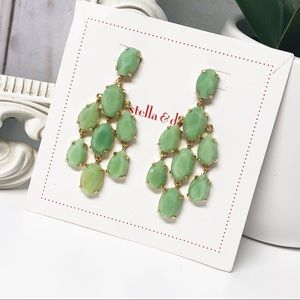 Stella and Dot • Lily Chandelier Earrings